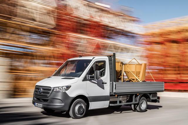 El nuevo Sprinter se ofrece en diversos tamaños, carrocerías, preparaciones...