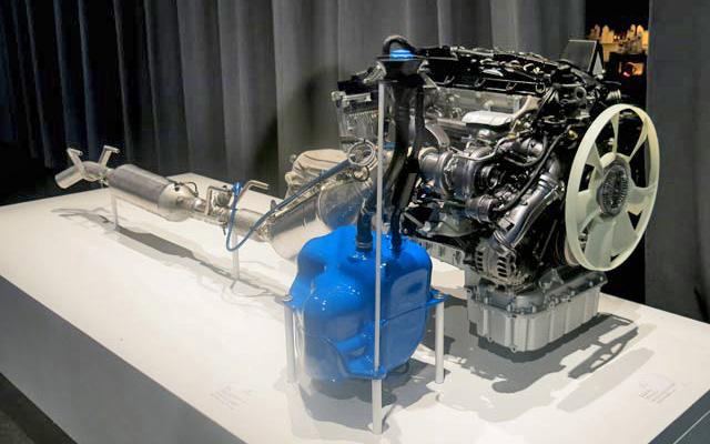 Sistema AdBlue en un Mercedes Sprinter