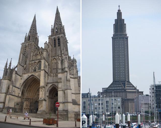 Catedral Notre Dame de la Assomption de Sées / Iglesia de St. Joseph de Le Havre