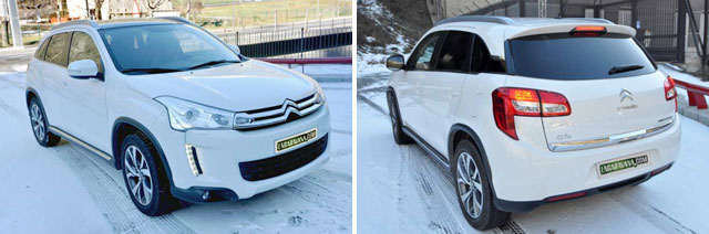 Con la tracción integral y suavidad en el acelerador las pistas nevadas se superan con facilidad
