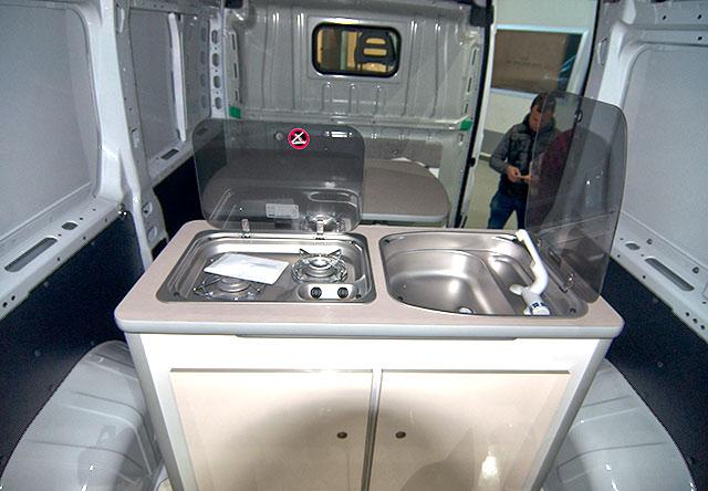 Módulo cocina de Camper-Van Freedom