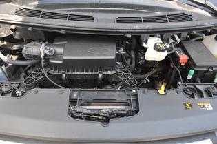 El motor 2.2 diésel se muestra ágil y sin problemas de potencia