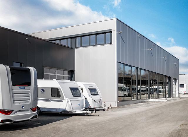 Nueva zona para realizar las entregas de vehículos
