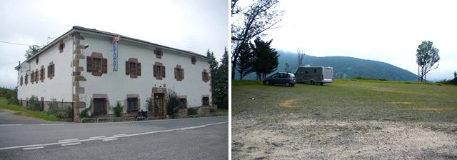 Área de autocaravanas de San Blasko Benta Belate
