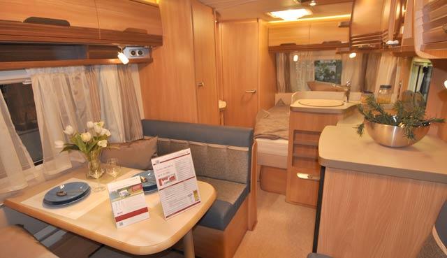 Caravanas tabbert 2014 - Interior caravana ...