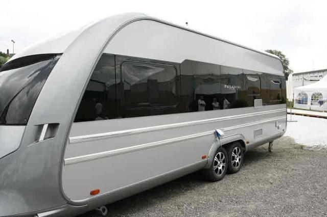 Tabbert Paganini 550 E als Pickup-Camper in Offenburg bei