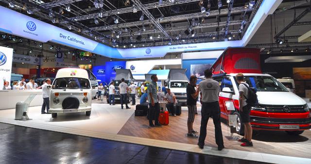 Clásico entre los clásicos, Volkswagen exponía de los ancestros del camper