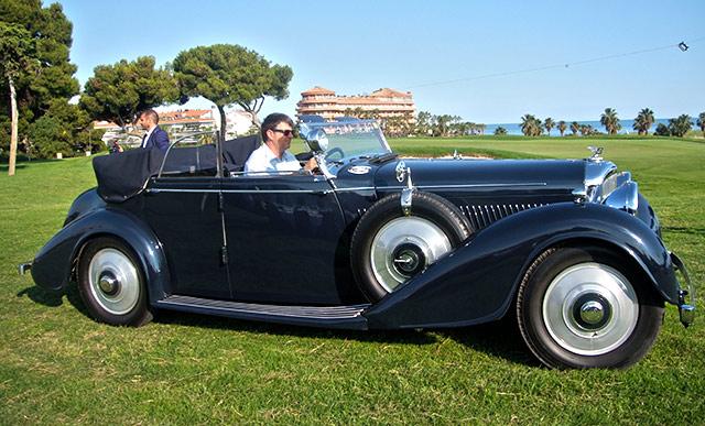Bentley 4 1/4 de 1937