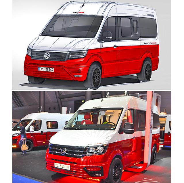 El proyecto y la realidad del protipo Saint&Sinner 600VW sobre Volkswagen Crafter