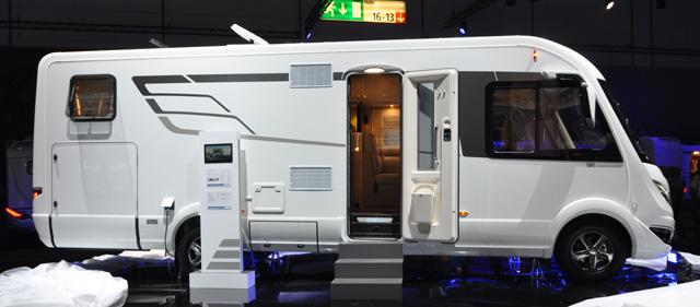 B SL704 una muestra de la nueva serie SL de Hymer