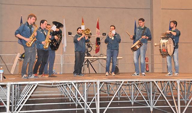 Actuación del grupo Charanga el martes