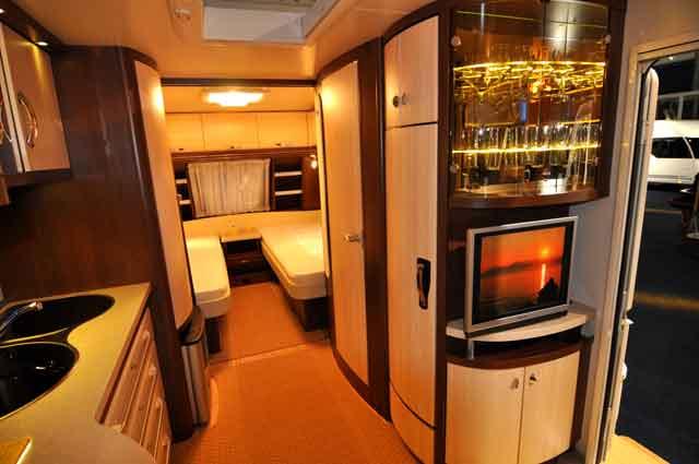 Dos camas individuales en la Prestige 560UL