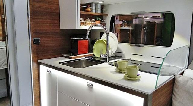 La cocina de las LVX