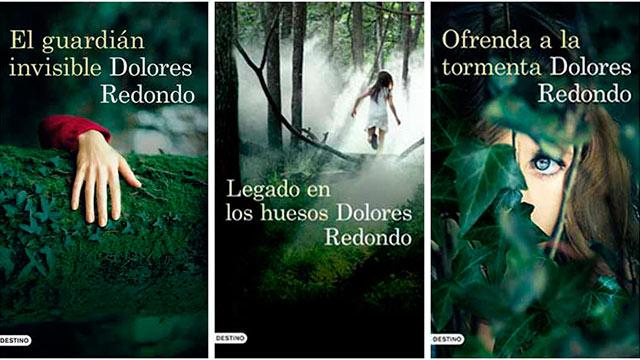 Las portadas de la trilogía