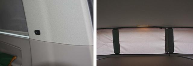 Encontramos iluminación Led en las dos camas y en la superior con dos interruptores independientes